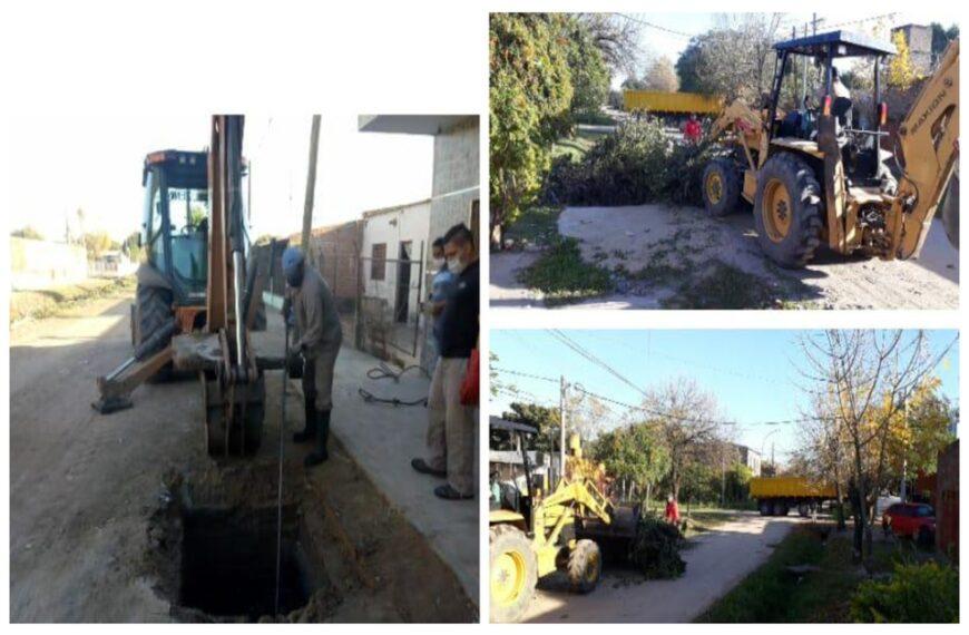 El municipio implementa múltiples intervenciones