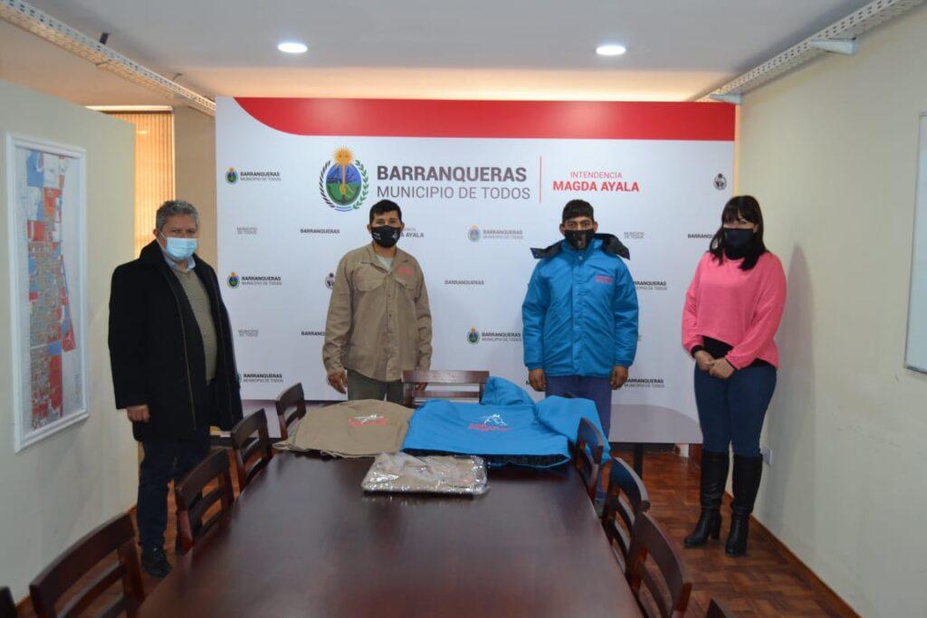 uniformes y equipos de protección personal