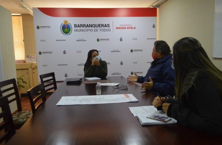 Gestiones en el Parque Industrial de Barranqueras
